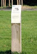 Frankfurter Grüngürteltier Stele