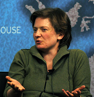 Franny Armstrong - Armstrong at Chatham House in 2013