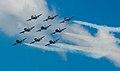 Frecce Tricolori NL Air Force Days (9291482992).jpg