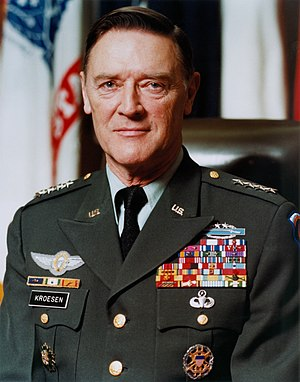 Frederick Kroesen - Kroesen as Vice Chief of Staff of the Army