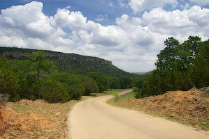 Fredericksburg in the Texas Hill Country AVA - Image: Fredericksburg in the Texas Hill Country