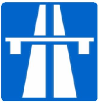 Road signs in Iran - Image: Freeway in Iran