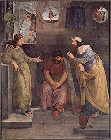Josephs Traumdeutung im Gefängnis (Quelle: Wikimedia)