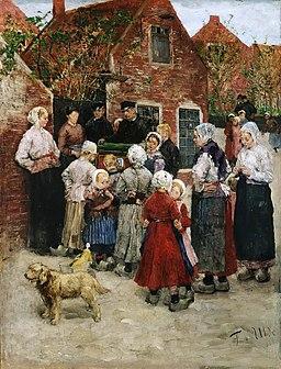 Fritz von Uhde Kataryniarz (1883)
