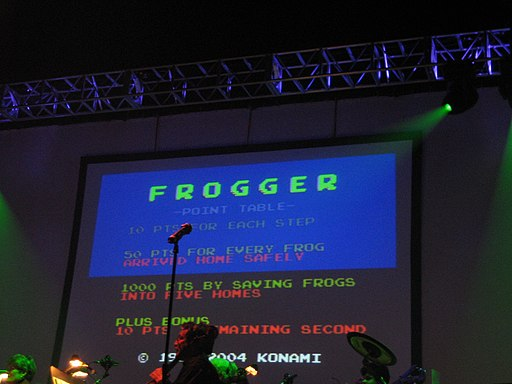 Frogger at Video Games Live