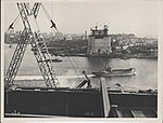 From the northern abutment of Sydney Harbour Bridge, 1928 (8283769934).jpg