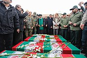Funeral procession of victims of Ukrainian Boeing 737-800 plane crash in Hamadan 2020-01-16 07.jpg