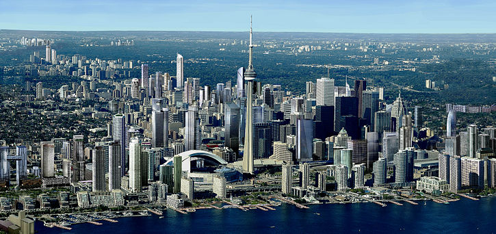 Toronto incluant presque tous ses projets. Voir: Liste des plus hautes constructions de Toronto