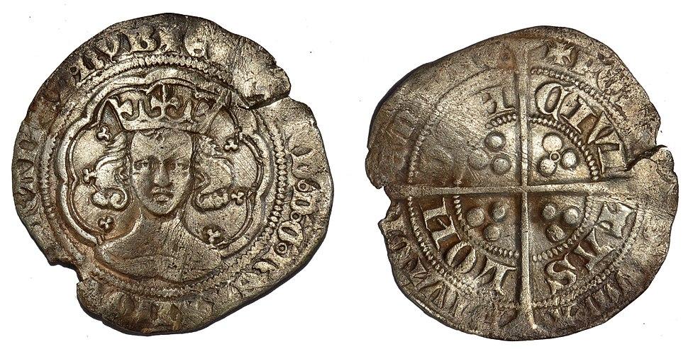 GLO-247236 Medieval Groat of Edward III (FindID 662156)