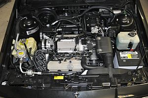 Buick V6 engine - General Motors 3.3L (3300cc) V6 Engine (VIN N) in a 1990 Buick Skylark Luxury Edition.