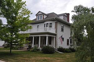 Samuel H. Elrod - Governor Elrod's house in Clark, South Dakota