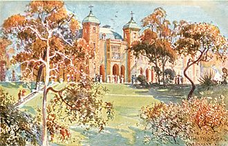 Government House, Perth - Government House by Albert Henry Fullwood (1911/1912)