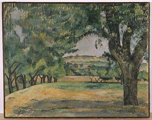 """""""The Neighborhood of Jas de Bouffan"""" by Paul Cézanne"""