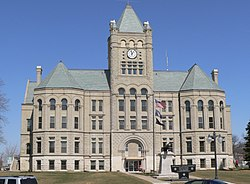 Gage County courthouse