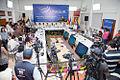 Galapagos - Ecuador 23 de Mayo del 2014. Rueda de Prensa de la sesión de trabajo de la Reunión de Ministras y Ministros de Relaciones Exteriores de Los países miembros del UNASUR. (14231861696).jpg