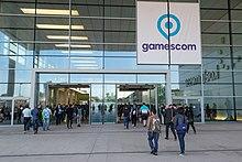 Gamescom Gelände