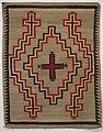 Ganado rug, Navajo, Honolulu Museum of Art accession 4689.JPG