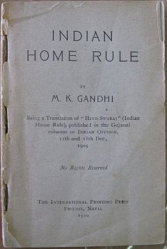 Gandhi-Home-Rule-First-Edition-1909