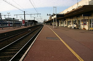 Melun Station - Melun railway station