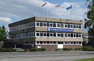Garforth Academy - Image: Garforth CC2009