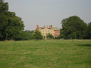 Gate Burton village in the United Kingdom