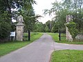 Gate entrance to Whatcombe House - geograph.org.uk - 459027.jpg