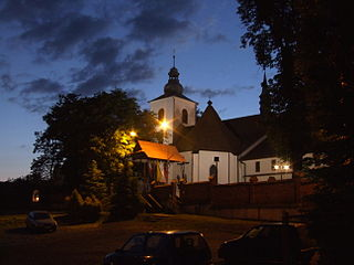 Gdów Village in Lesser Poland Voivodeship, Poland