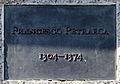 Gedenktafel Straße des 17 (Tierg) Francesco Petrarca Ich gehe durch die Welt und rufe Friede Friede Friede.jpg
