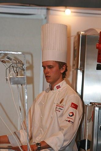 Bocuse d'Or - Geir Skeie, winner of the 2008 Bocuse d'Or Europe and 2009 Bocuse d'Or