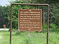 General Lord Cornwallis Historical Marker, Fort Bragg, NC.jpg