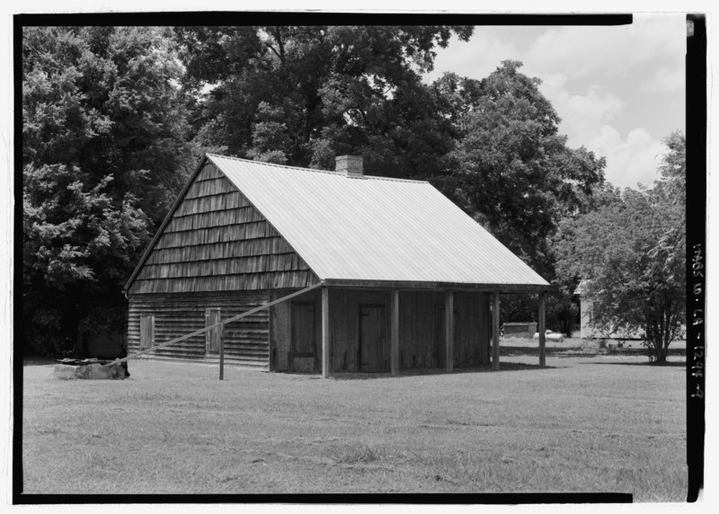 File:General view from the southeast - Badin-Roque House, State Highway 484, Natchez, Natchitoches Parish, LA HABS LA-1294-9.tif