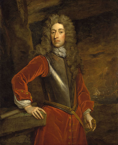 Admiral Sir George Byng. Oil on canvas by Sir Godfrey Kneller George Byng (1663-1733), 1st Viscount Torrington.jpg