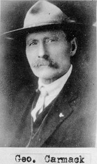 George Carmack Prospector who discovered gold which led to the Klondike Gold Rush