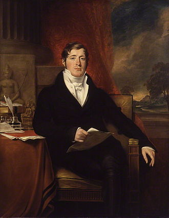 Stamford Raffles - Raffles in 1817 by George Francis Joseph. National Portrait Gallery, London.