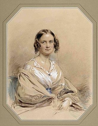 Emma Darwin - Darwin in 1840