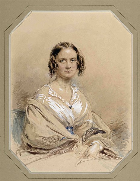Datei:George Richmond - Emma Darwin - 1840.jpg