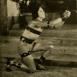 George Walsh - A pre-production image of George in Ben-Hur (1925) before he was replaced by Ramon Novarro.