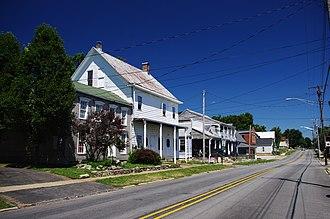 Georgetown, Floyd County, Indiana - Main Street (SR 64)