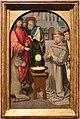Gerard david, tre miracoli di sant'anatonio da padova, 1500-10 ca. 03 miracolo della mula.jpg