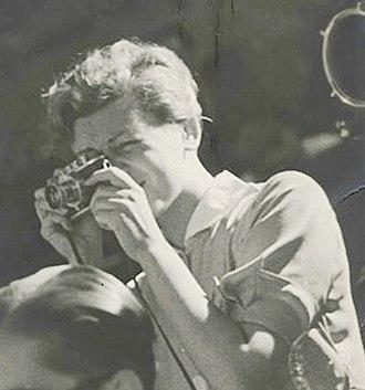 Gerda Taro - Taro in Spain, July 1937