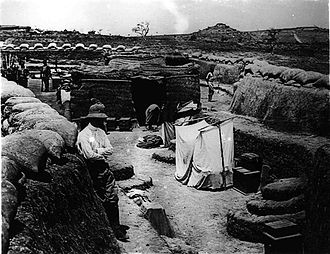 African theatre of World War I - German trenches in Garua, German Cameroon