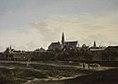 Gerrit Berckheyde - A View of Haarlem - oil on panel, 43x61 cm.jpg