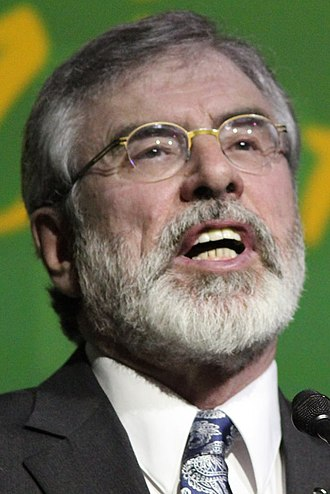 Irish general election, 2016 - Image: Gerry Adams 2016 (cropped)