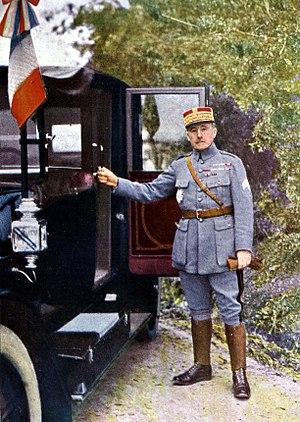 Robert Nivelle - General Nivelle in 1916
