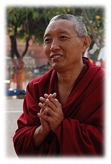 Tashi Tsering (Jamyang Buddhist Centre) Buddhist philosopher