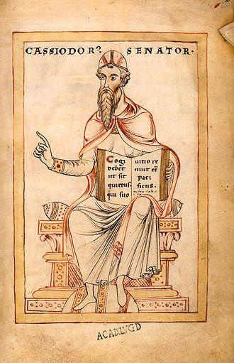 Cassiodorus - Image: Gesta Theodorici Flavius Magnus Aurelius Cassiodorus (c 485 c 580)