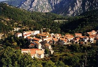Ghisoni Commune in Corsica, France