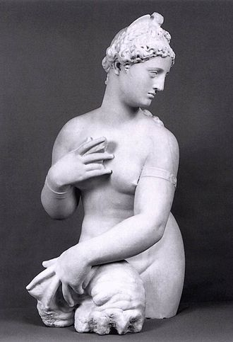 Female Figure (Giambologna) - Giambologna, Fata Morgana, probably intended as a depiction of Venus. Private collection