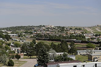 Gillette, Wyoming - Gillette seen from Overlook Park