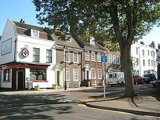 Brompton, Kent - Image: Gillingham Brompton 2750